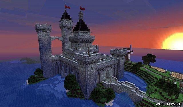 Замок у воды думаю он вам хорошо